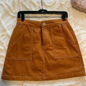 Urban Outfitters Burnt Orange Skirt